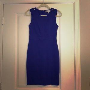 Dresses & Skirts - Chic interview business dress gold button details